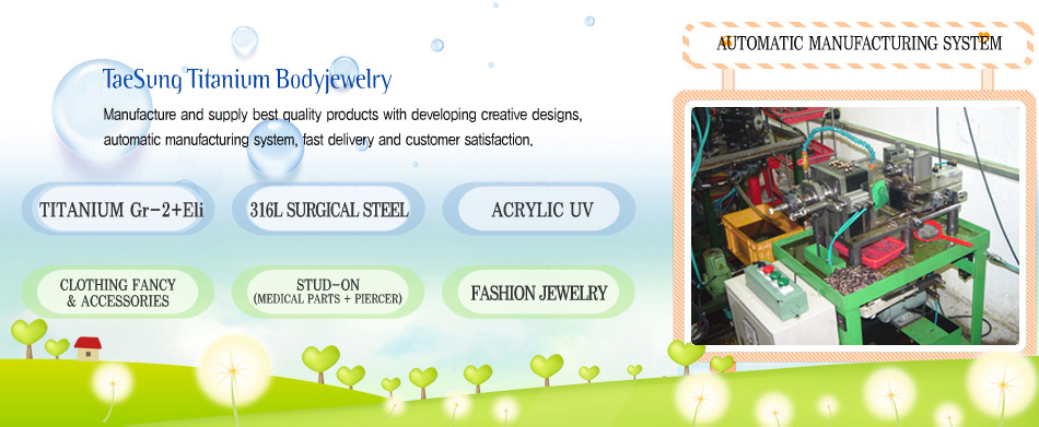 Titanium Body Piercing Jewelry Body Jewelry Factory Piercing